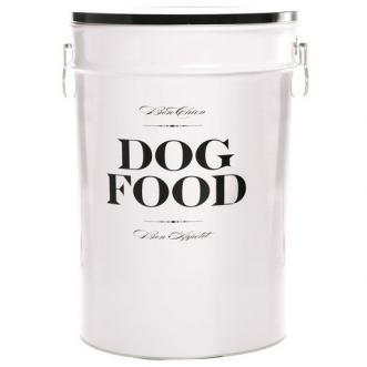 Dog Food Canister Update with Fresh Coat of Paint