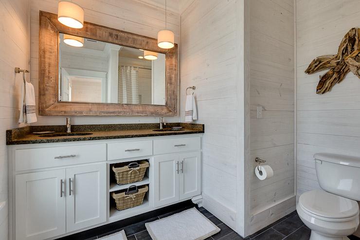 whitewashed driftwood mirror design ideas