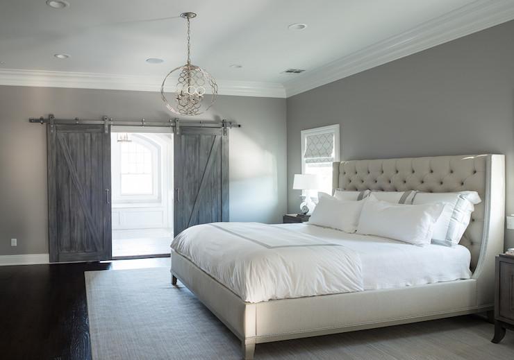 gray bedroom paint colors - transitional - bedroom - benjamin