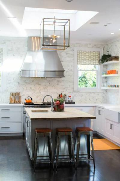 Kitchen Skylight - Transitional - kitchen - Benjamin Moore ...