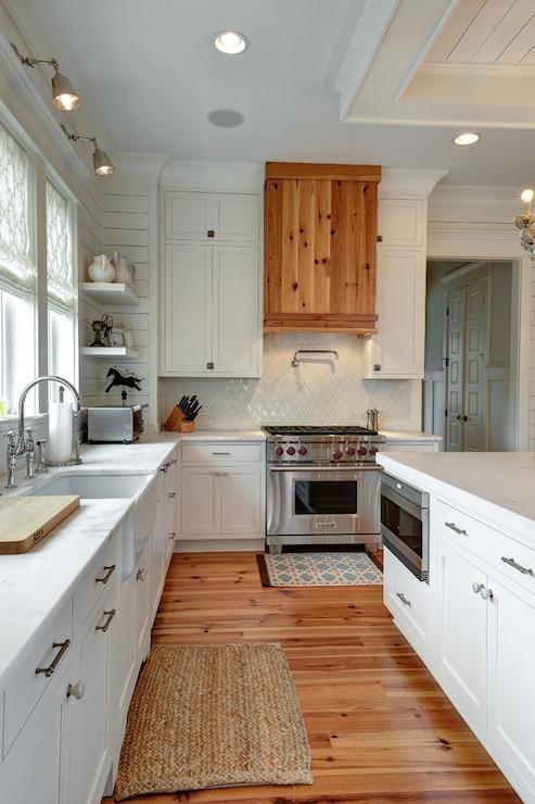 Pine Kitchen Hood Transitional Kitchen Kitchens Bath And Beyond