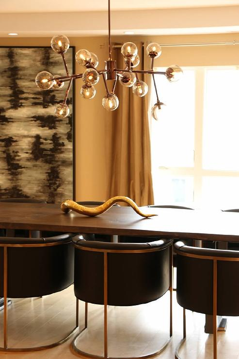Our Second House Young Love Arteriors Dallas 18 Light Mini Chandelier Contemporary Dining