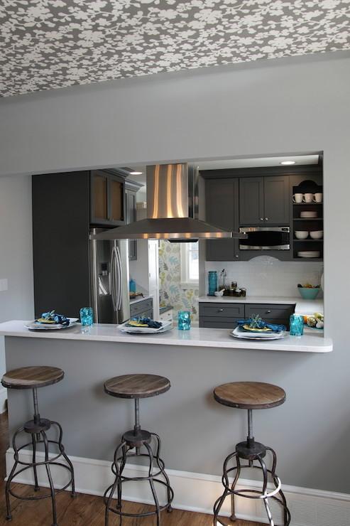 Breakfast Bar Pass Through Design Ideas
