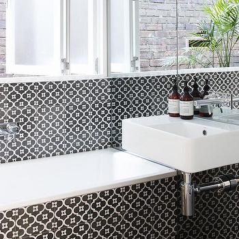 Patterned Moroccan Tile Backsplash Design Ideas