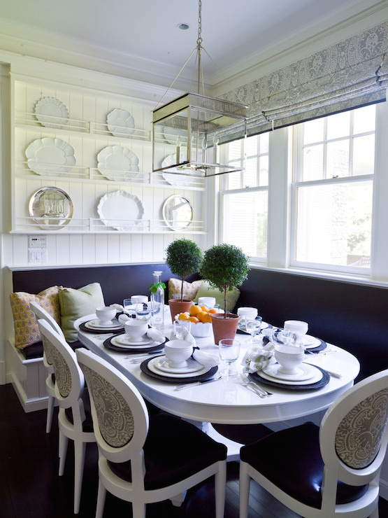 White Oval Dining Table Cottage Kitchen Thornton Designs