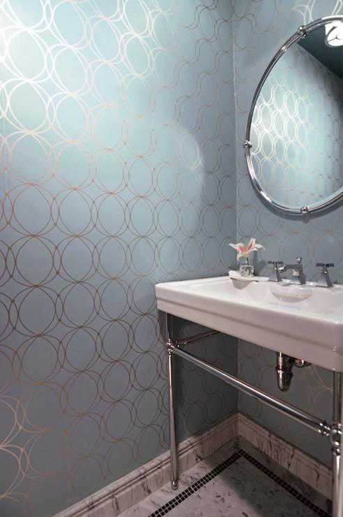 Darcy White Amp Silver Wallpaper Design Ideas