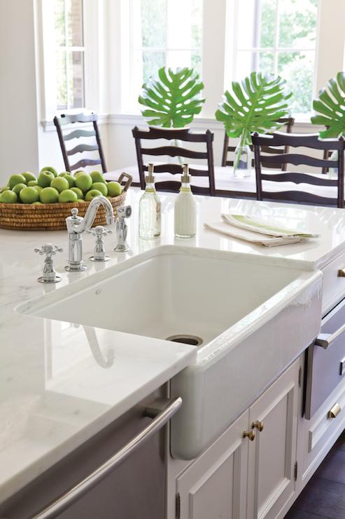 Kitchen Island Sink Design Ideas
