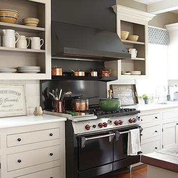 Black Kitchen Hood
