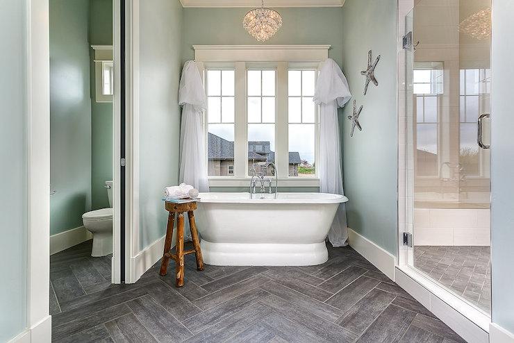 wood like tiles transitional