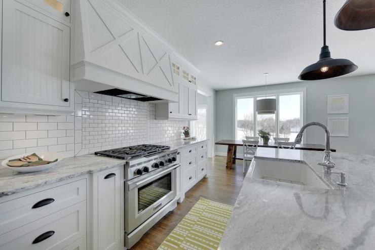 Super White Granite Countertops Transitional Kitchen Parade