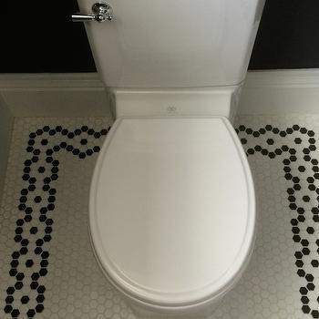 hex tile floor design ideas