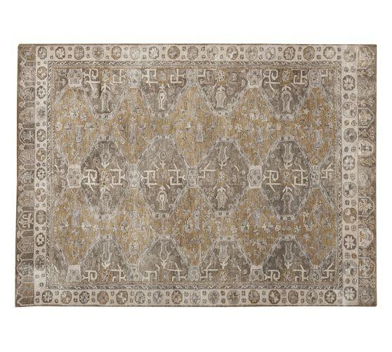 Nora Persian Style Neutral Rug