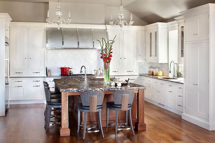 Transitional Kitchen Benjamin Moore Affinity Wish