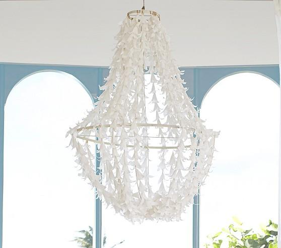 Lily White Chandelier