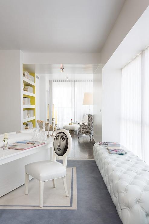 Desk Behind Sofa Design Ideas