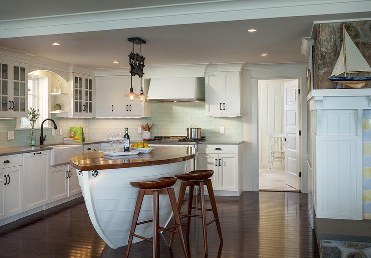 Boat Kitchen Islands Cottage Kitchen Ronald F DiMauro Architects