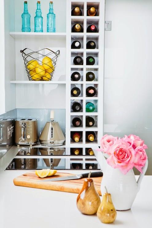 vertical wine racks contemporary