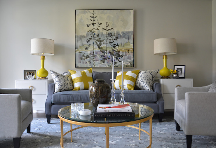 Yellow And Blue Rooms