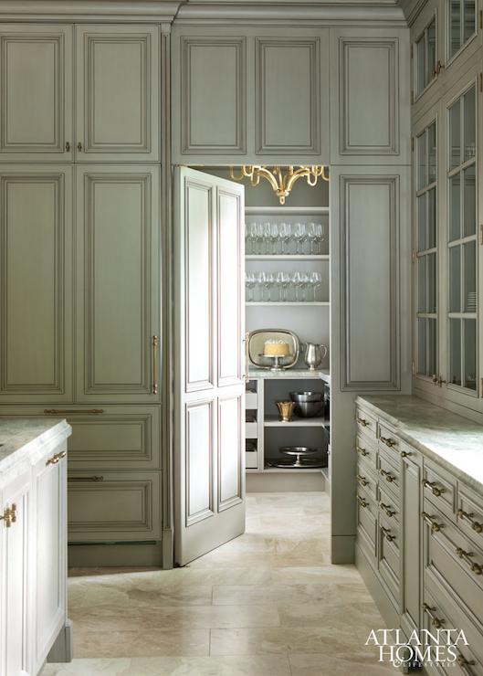 Hidden Pantry Door Ideas Transitional Kitchen