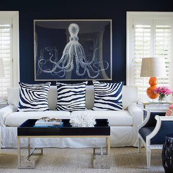 Navy Blue Living Room Chairs   Aecagra.org