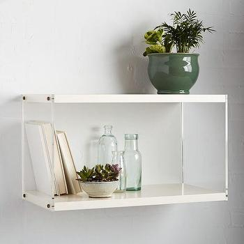 Acrylic Book Shelf