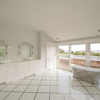 diamond checkerboard floor tile design