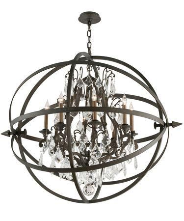 Troy Lighting Byron Bronze Chandelier