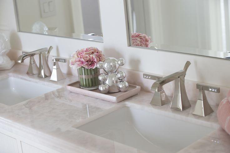 Soft Pink Bathroom Accessories