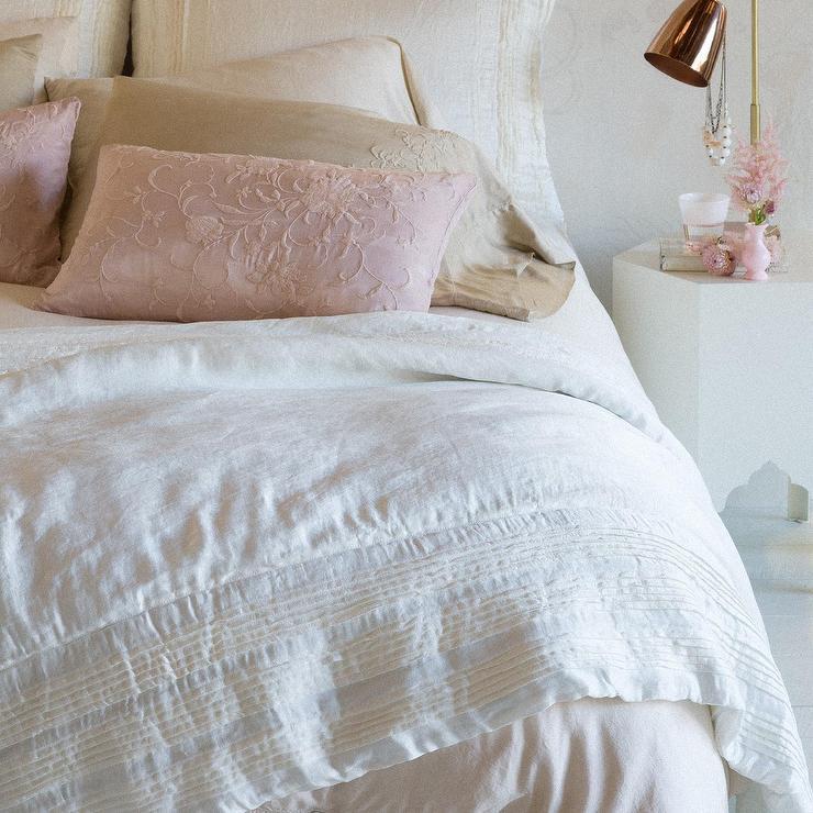 Elementary Down Free Striped Comforter Garnet Hill