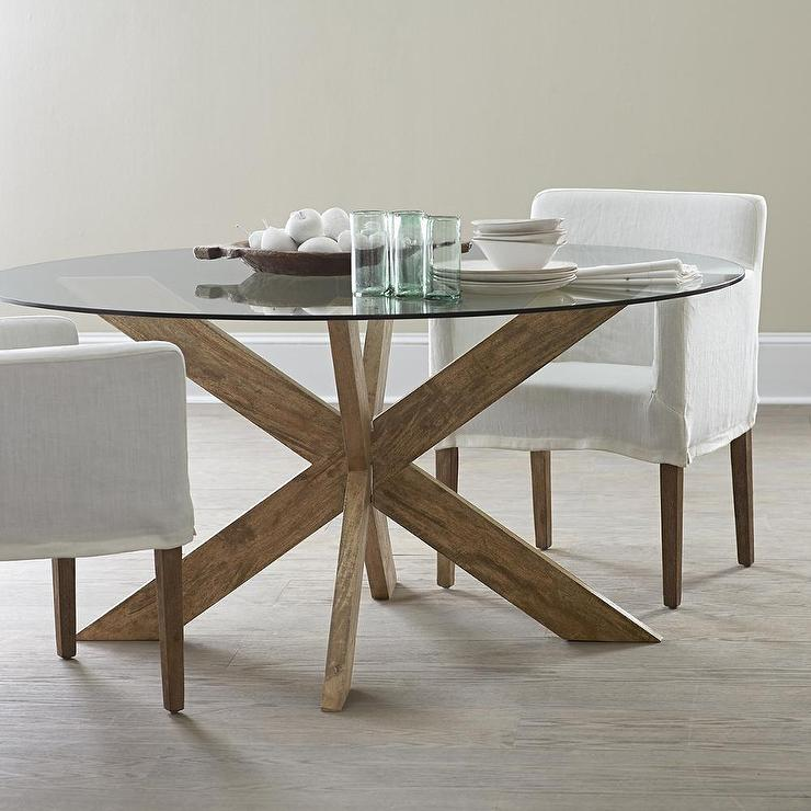 Dining Table X Base