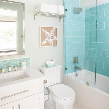 turquoise shower tiles design ideas