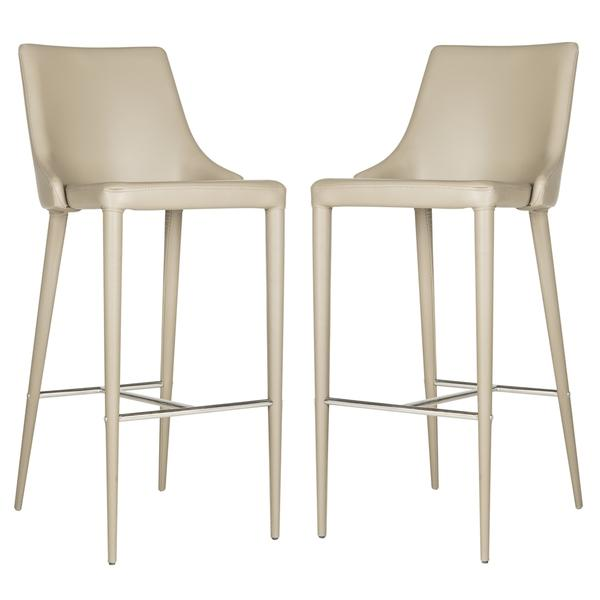safavieh summerset taupe bar stool