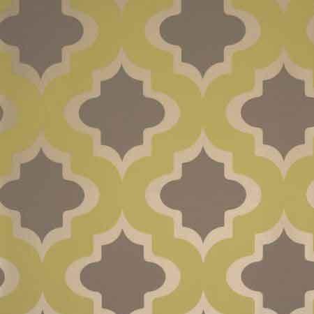 Gray Octagonal Pattern Wallpaper