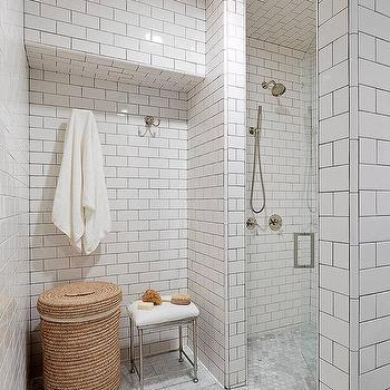 Gray Hex Tiles White Grout Design Ideas