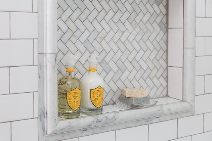 home depot marble herringbone tiles