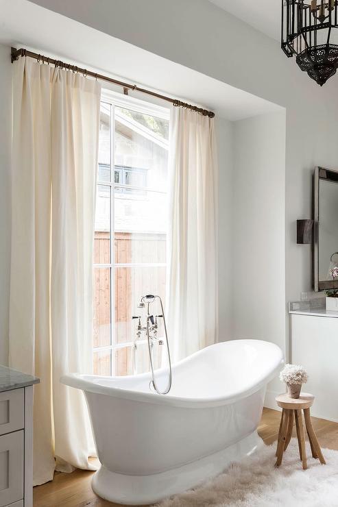 Spa Like Tub Contemporary Bathroom New England Home