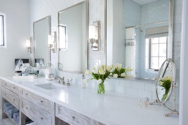 extra long bathroom vanity design ideas