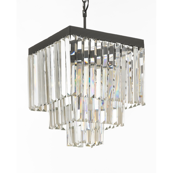 Odeon 4 Light Crystal Chandelier View Full Size
