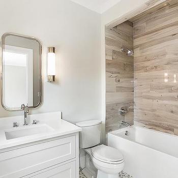 fake wood shower wall tiles design ideas