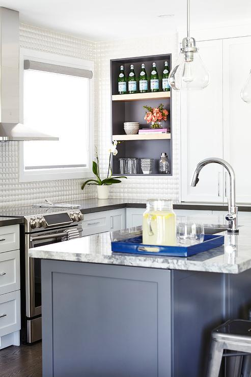 Kitchens Gray And White