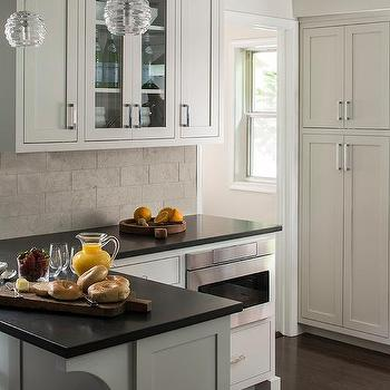 extra light gray kitchen cabinets design ideas