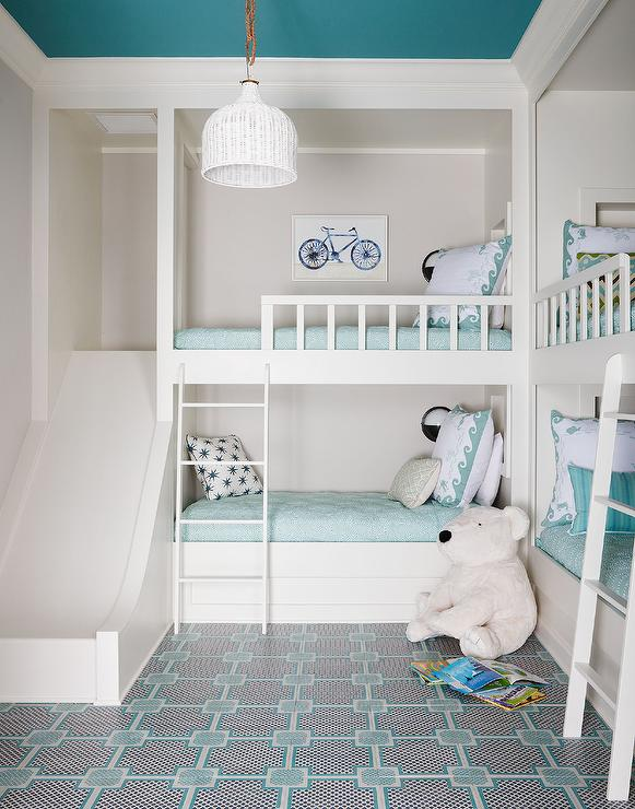 girl and boy shared bedroom