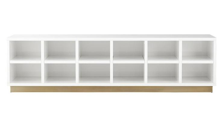 White Shelves Mudroom Storage