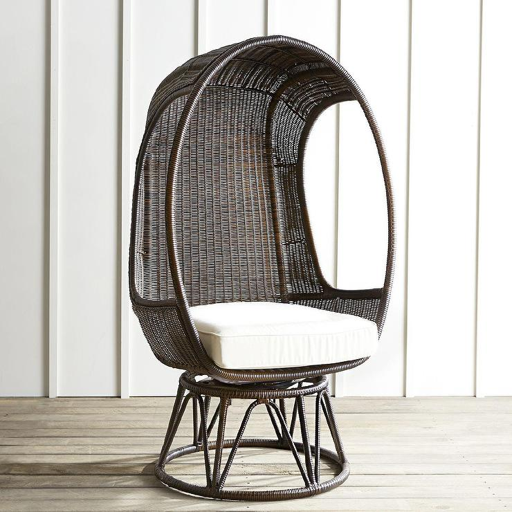 White High Back Accent Chair