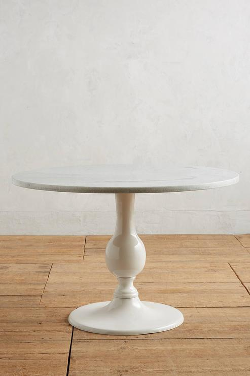 Brasserie Cafe Table WMarble Top