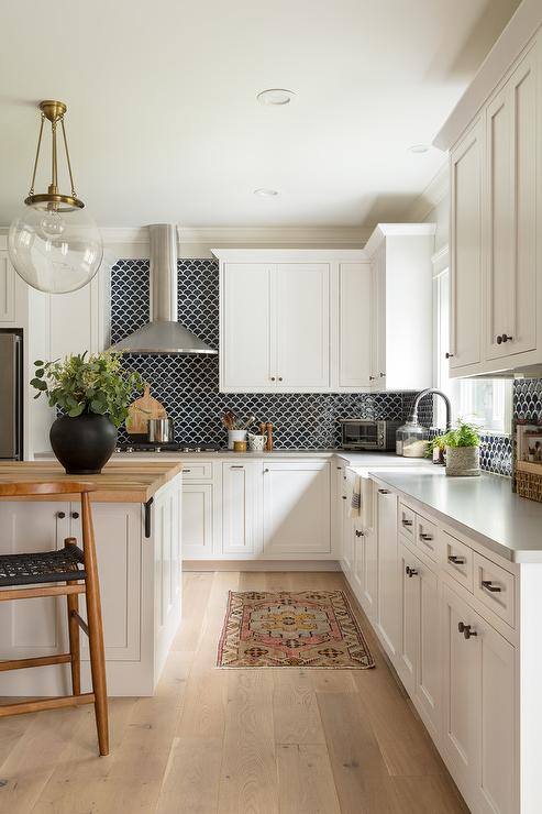 Blue And White Kitchen Designs