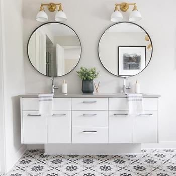 double pedestal sinks design ideas