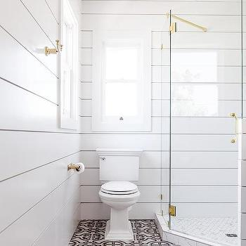 Shiplap Bathroom Walls Design Ideas