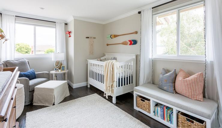 Alyssa Rosenheck Freestanding Nursery Storage Bench