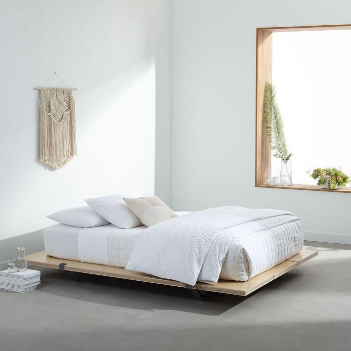 Magical Thinking Bohemian White Platform Bed